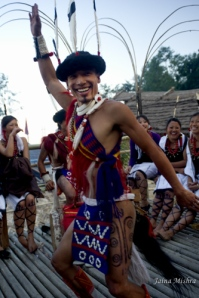 Naga Warrior Tribal Culture, Nagaland, India