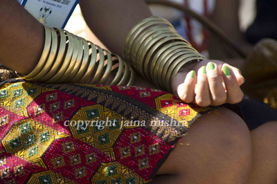 Naga tribal jewelry costume