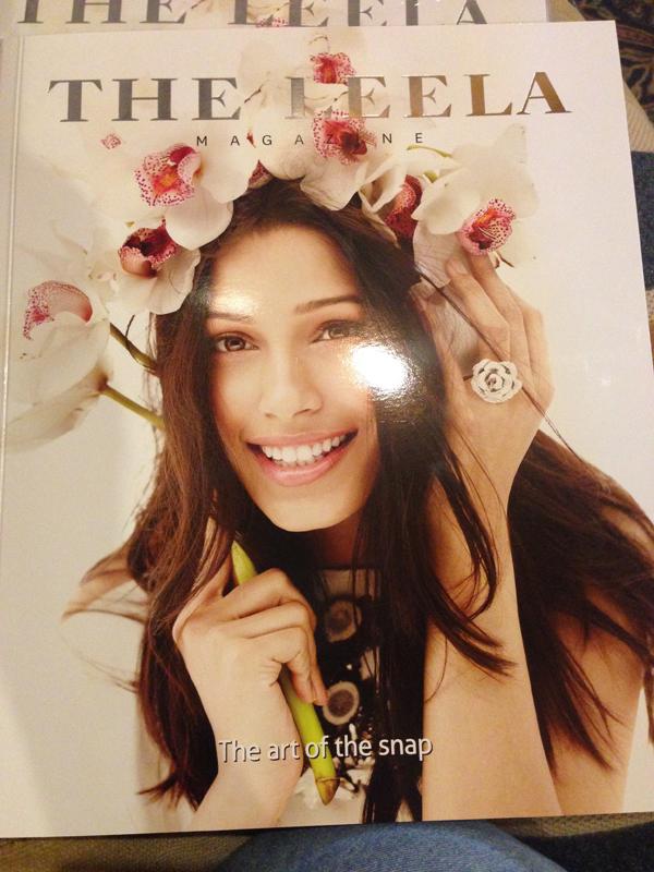 ARTICLE IN THE LEELA MAGZINE ON JAINA MISHRA, SPRING 2015 ISSUE
