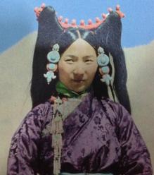 Tibetan Noble woman