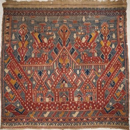 Museum Quality Kalianda Tampan Ship cloth