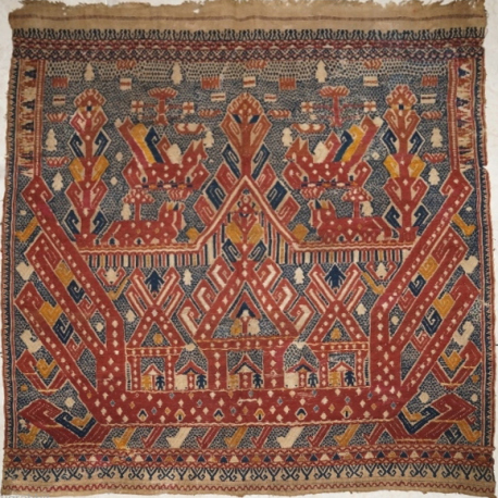 Museum Quality Kalianda Tampan Ship cloth