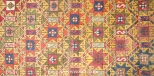 ANTIQUE STAR LATTICE GENDGE RUG