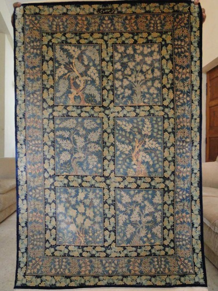Fine Persian Silk Qum Rug Carpet-18