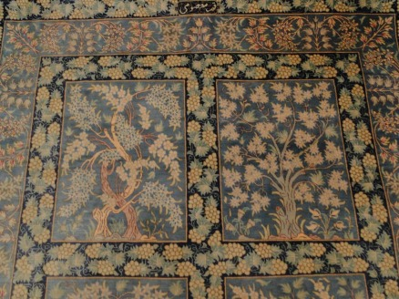 Fine Persian Silk Qum Rug Carpet-21