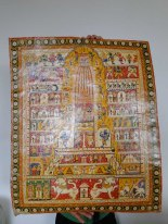 Large painting pattachitra
