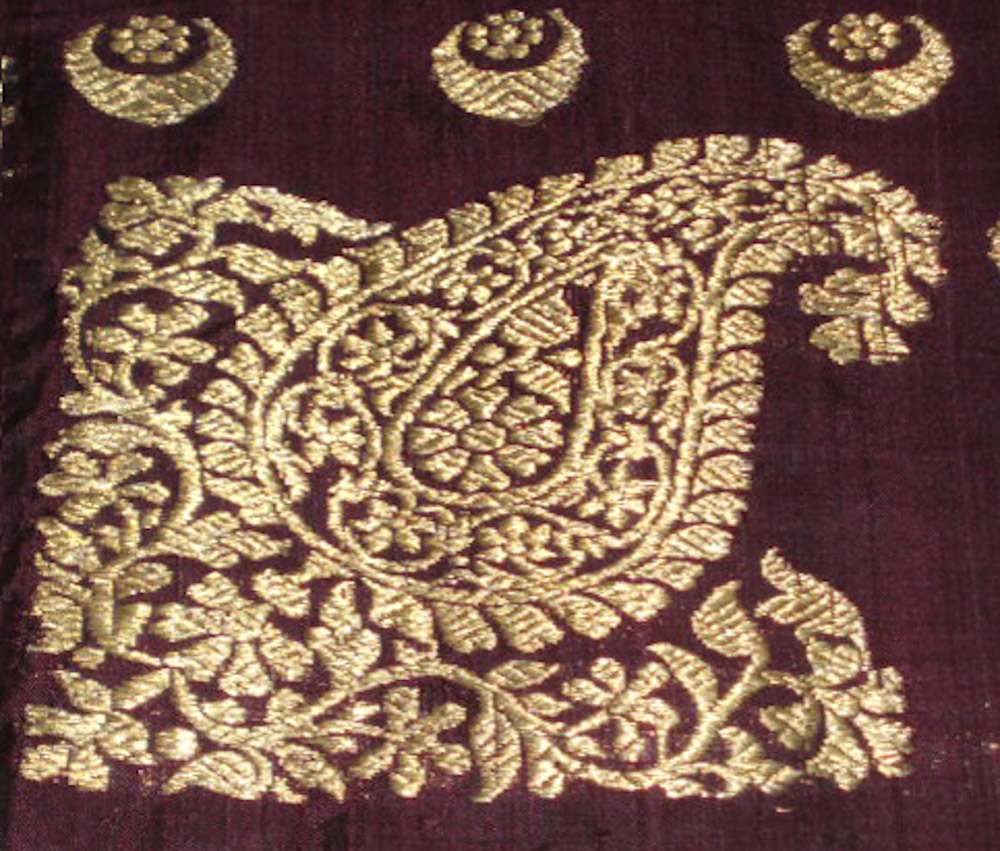 Antique colonial era saris the art by wovensouls
