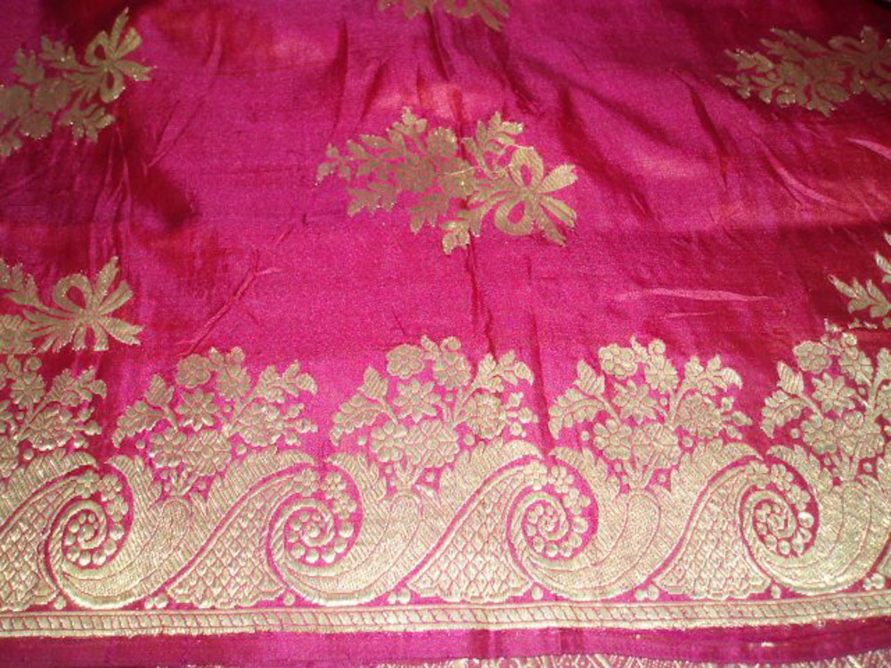Antique Colonial-Era Saris | The Wovensouls Journal