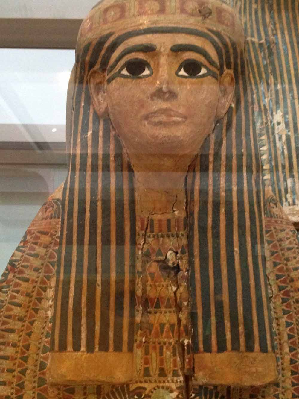 Ancient Egyptian Hair Style hairstyles of a mummy a visit to ancient egypt via the british 3028 by wearticles.com
