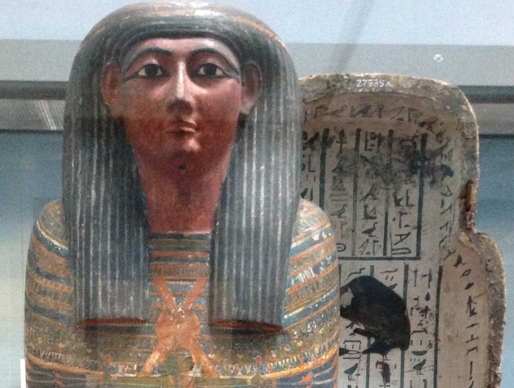 Hairstyles of a Mummy ? A visit to Ancient Egypt via The British ...