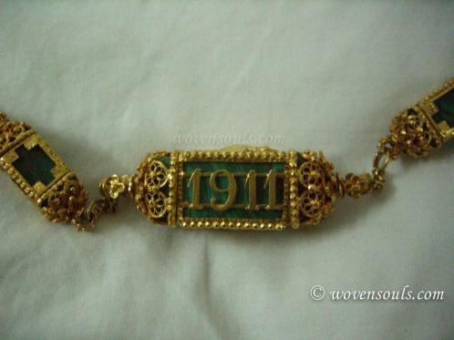 Antique Gold Mangalsutra Jewelry
