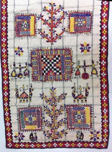 ANTIQUE DHANIYO WALL PANEL, KUTCH GUJARAT INDIA