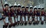 NAGA WARRIOR TRIBE DANCE, NAGALAND, NORTH EAST INDIA