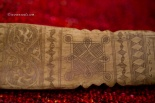 Antique Batak Bone Inscribed with ancient calendar AFO-305 | ANTIQUE BATAK CALENDAR