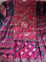 ANTIQUE AFGHANISTAN SILK FLOSS EMBROIDERY TEXTILES