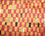 Antique Sar Pallu Phulkari Bagh Textile from India