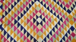 ANTIQUE SAT RANGI BAGH PHULKARI TEXTILE WITH SEVEN COLORS