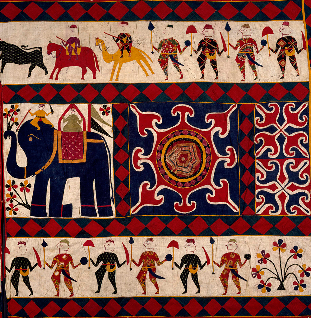 Antique Textile News The Fabric Of India Exhibition The