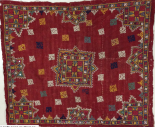 antique textile embroidery India