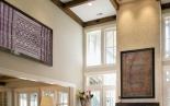 interior-decor-vintage-textile-art-bhutan-kera-framed