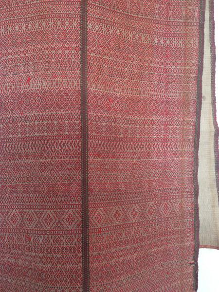 Myanmar Textile Art - Antique Tribal Weaving