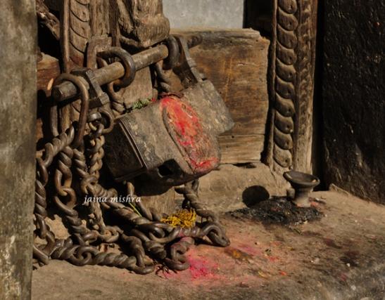 Art in heritage architecture, Durbar square, Kathmandu, Nepal