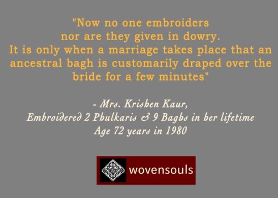 Quote on Phulkari
