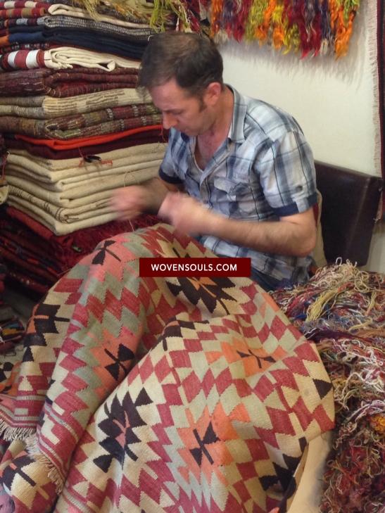 Rug Repair in Istanbul Turkey