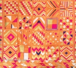 ANTIQUE BAWAN BAGH PHULKARI TEXTILE FROM INDIA