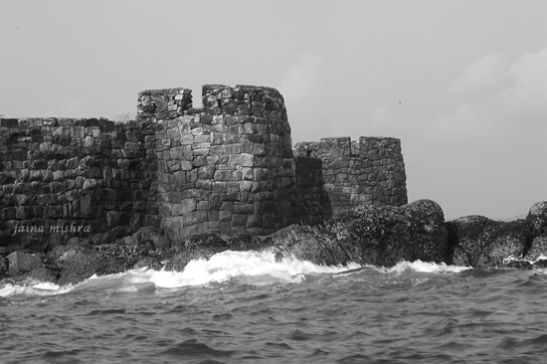 Art in architecture - Sindhudurg Fort, Konkan coast, India