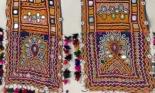 VINTAGE RABARI GROOM'S BOKANI BUKANI SCARF SASH WITH MIRROR EMBROIDERY