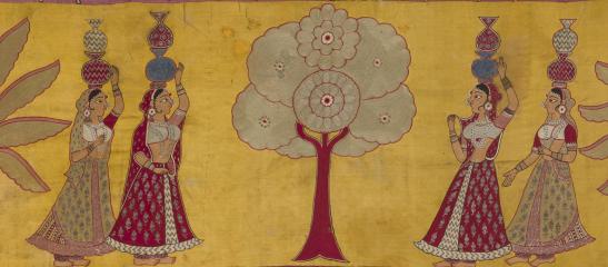 Mochi Embroidery Pichwai