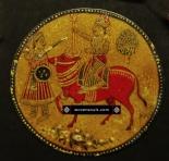 antique mughal ganjifa cards
