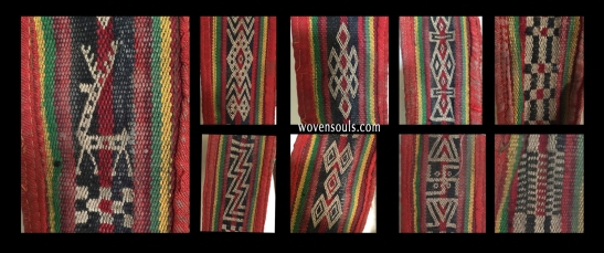 Motifs from Handwoven Tibetan belt