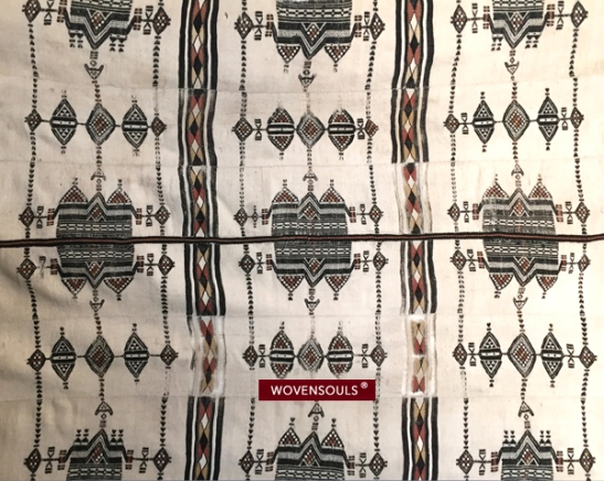VINTAGE FULANI WEDDING BLANKET 2