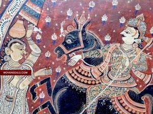 Antique Pattachitra from Orissa Odisha Puri Patta