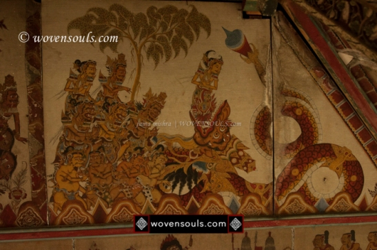 KERTA GOSA PAINTINGS BALI INDONESIA KAMASAN