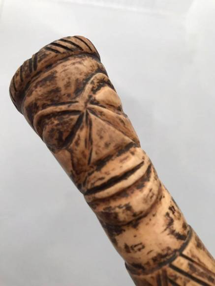 408 Old Naga SMoking Pipe Cheelum  - WOVENSOULS