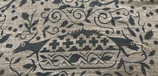 1089e Rare Antique Ceremonial Figurative Toraja Batik Textile - Wovensouls Antique Art - 28.jpg