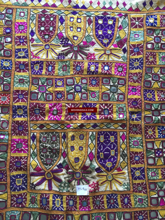 ANTIQUE RABARI TEXTILES FROM KUTCH, GUJARAT INDIA