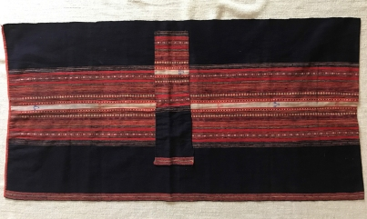 203 VINTAGE HILLTRIBE VIETNAM TEXTILE WEAVING - Wovensouls Antique Textile Art - 50P