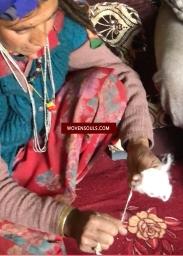 hand spun Hiamlayan yarn