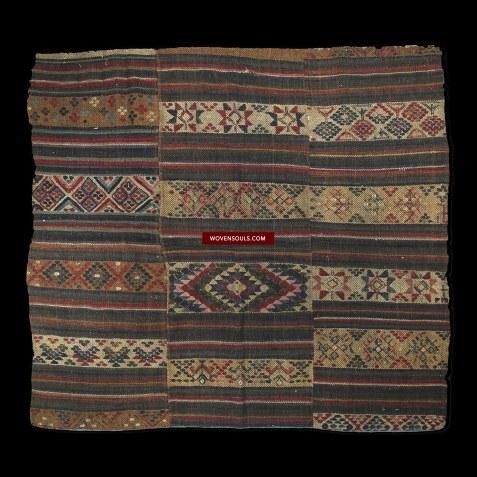Antique Bhutan Rain Cloakc Charkhap Yathra Weaving