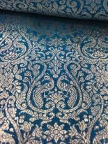 Antique Silver Zari Benarasi Sari - WOVENSOULS Collection