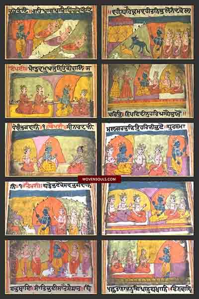 Antique Sikh Indian Miniature